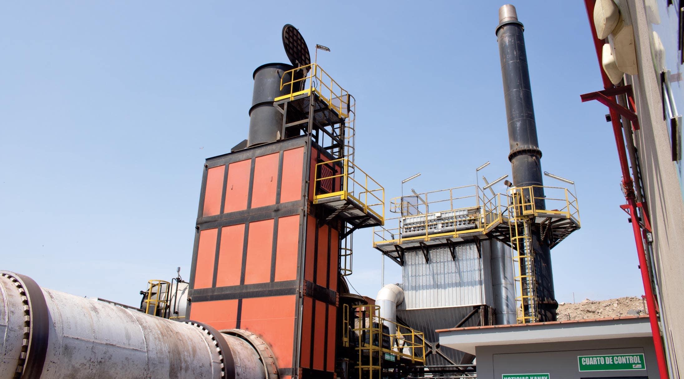 Tratamiento de Incineración Residuos Biocontaminados
